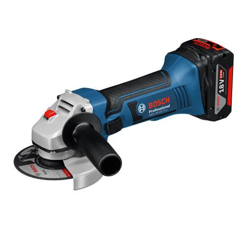Bosch GWS 18-125 V-Li Professional Angle Grinder 125mm (2 x 5.0Ah Batteries) - 3