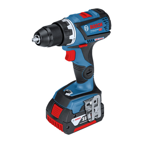 Bosch GSR 18V-60 C Dynamic Series Heavy Duty Drill Driver (2 x 5.0Ah Batteries) + GCY 30-4 Bluetooth Module  - 3