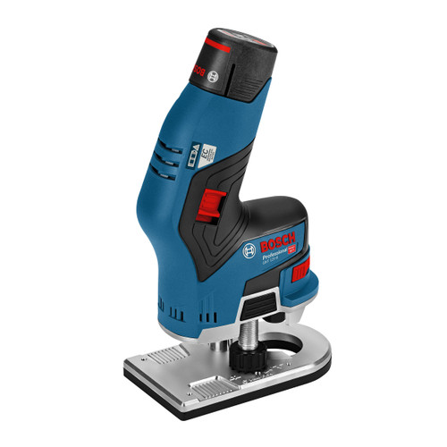 Bosch GKF 12V-8 Professional Heavy Duty Edge Router (2 x 3.0Ah Batteries) - 3