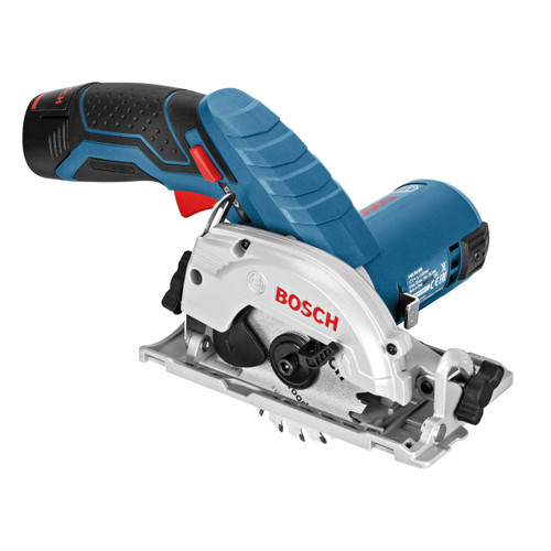Bosch GKS 12V-26 Professional Heavy Duty Circular Saw (2 x 2.0Ah Batteries) - 4