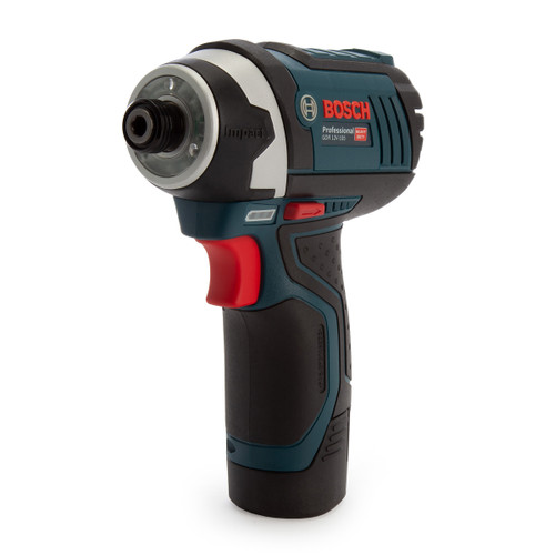 Bosch GDR 12V-105 Professional Heavy Duty Impact Driver (2 x 2.0Ah Batteries) - 3