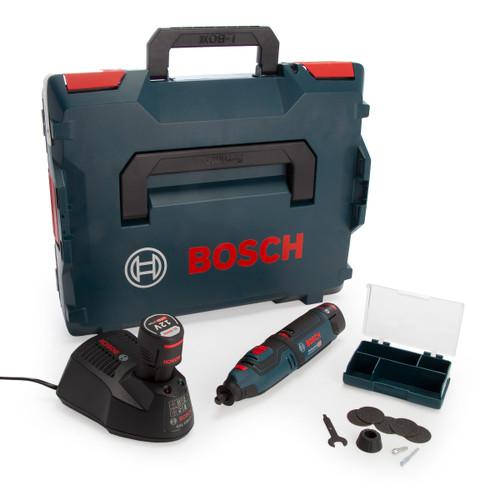 Bosch GRO 12V-35 Professional Heavy Duty Rotary Tool (2 x 2.0Ah Batteries) - 2