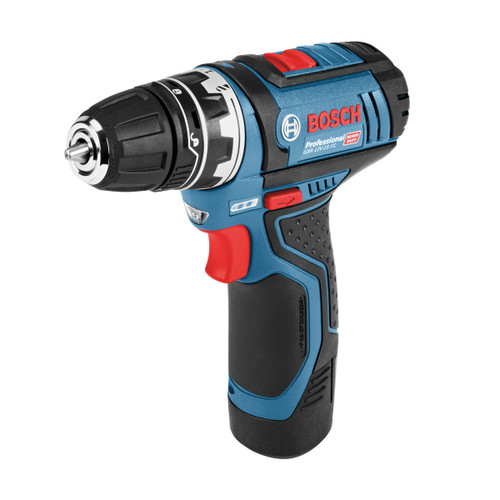 Bosch GSR 12V-15 FC FlexiClick Heavy Duty Drill Driver (2 x 2.0Ah Batteries) - 3