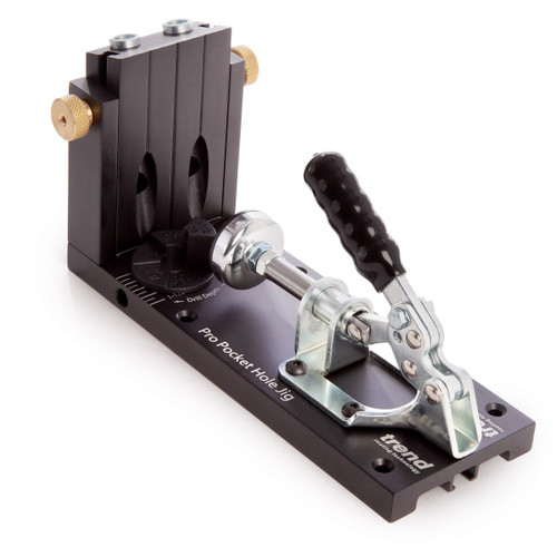 Trend PH/JIG/AK Pro Pocket Hole Jig for Timber and Plywood (12.7mm - 38mm) - 9