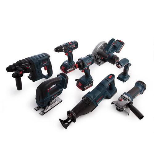 Bosch 0615990K9G 18V Dynamic Series Professional Heavy Duty 8 Piece Kit (3 x 4.0Ah Batteries) - 9