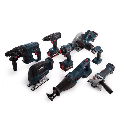 Bosch 0615990K9G 18V Dynamic Series Professional Heavy Duty 8 Piece Kit (3 x 4.0Ah Batteries) - 9