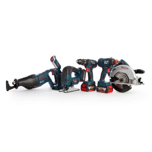 Bosch 0615990K9D 18V Dynamic Series Professional Heavy Duty 6 Piece Kit (3 x 4.0Ah Batteries) - 7