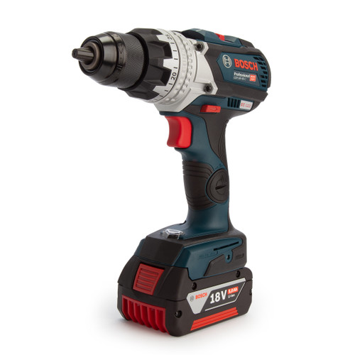 Bosch GSR 18V-85 C Professional Heavy Duty Drill Driver (2 x 5.0Ah Batteries) - 2