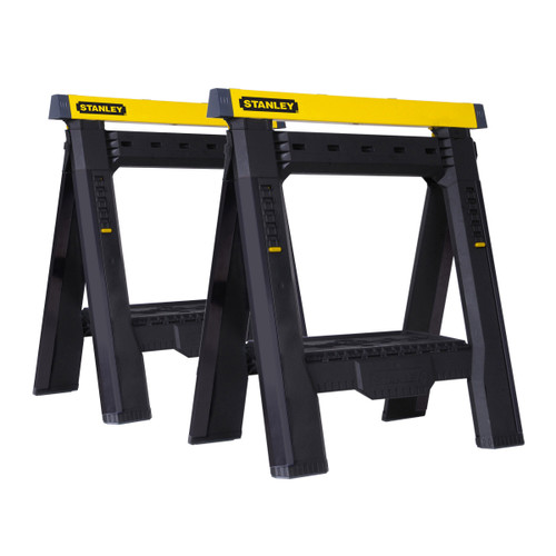 Stanley STST1-70559 2 Way Adjustable Saw Horse Twin Pack - 7