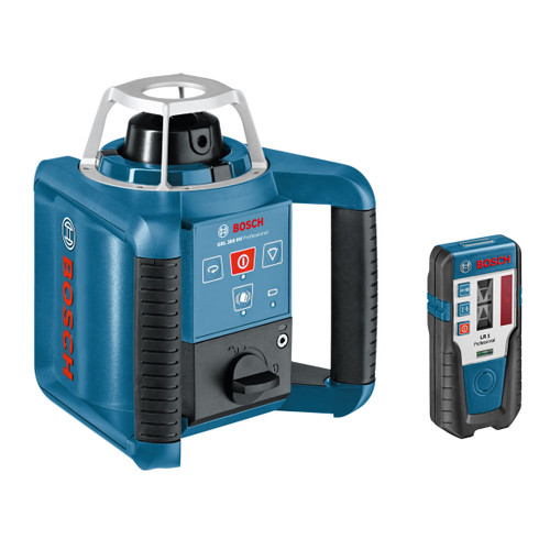 Bosch GRL 300 HV Rotation Laser + LR1 Receiver + RC1 Remote Control + GR240 Cut & Fill Rod + BT 300 HD Tripod  - 4