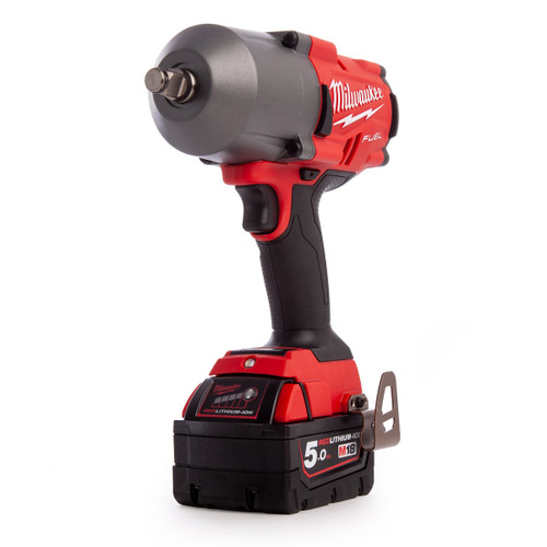 Milwaukee M18FHIWF12-502X 4933459697 M18 Fuel Impact Wrench (2 x 5.0Ah Batteries) - 6