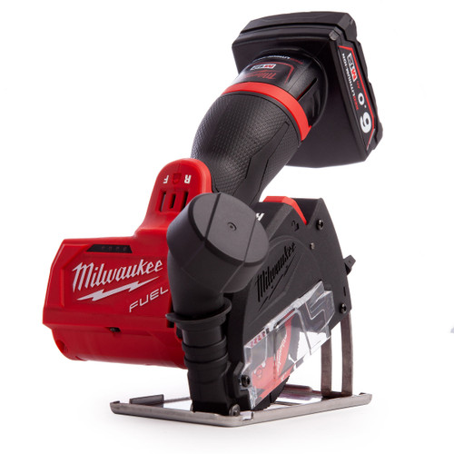 Milwaukee M12FCOT-622X (4933464620) M12 Fuel Cut Off Tool (1 x 2.0Ah +1 x 6.0Ah Batteries) - 9