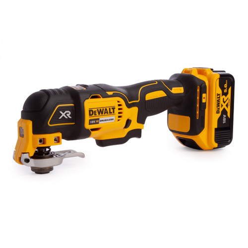 Dewalt DCS355P1 18V Brushless Oscillating Multi-Tool With Accessories (1 x 5.0Ah Battery) - 2