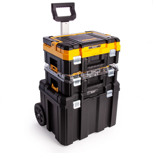 Dewalt DWST1-81049 TSTAK Mobile Wheeled Tower - 3 Piece - 4