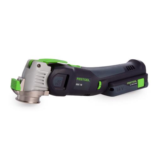 Festool 574852 18V Li-ion Oscillating Multi Tool VECTURO (1 x 3.1Ah Battery) - 2