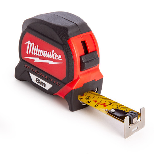 Milwaukee 4932464177 Metric Premium Magnetic Tape 8m - 3