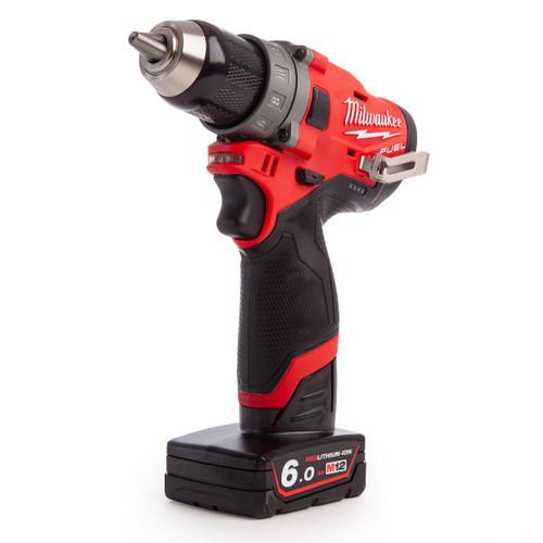 Milwaukee M12FDD-602X 4933459821 M12 Fuel Sub Compact Drill Driver (2 x 6.0Ah Batteries) - 8