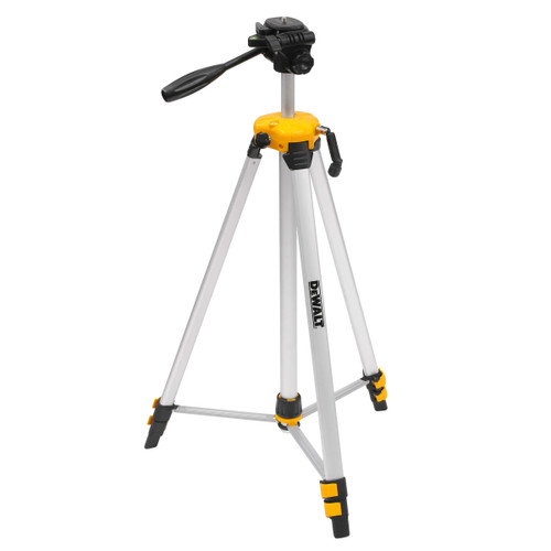 "Dewalt DE0881T 1/4"" Elevated Tripod 0.75-1.84m - 1"
