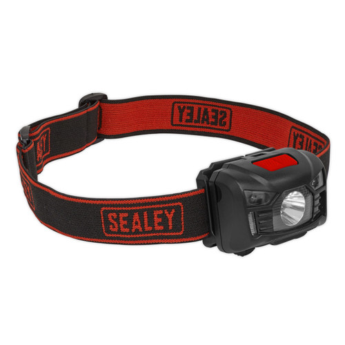 Sealey HT102R Rechargeable Head Torch 3W CREE XPE LED Auto Sensor - 2