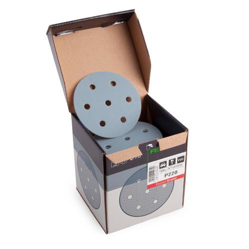 Festool 497370 Granat 90mm Sanding Discs 220 Grit (Pack of 100)