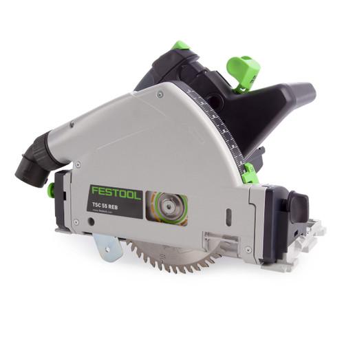 Festool 575688 18/36V Plunge Cut Saw TSC 55 Li 5,2 REBI-Plus-SCA GB (2 x 5.2Ah Batteries) - 3