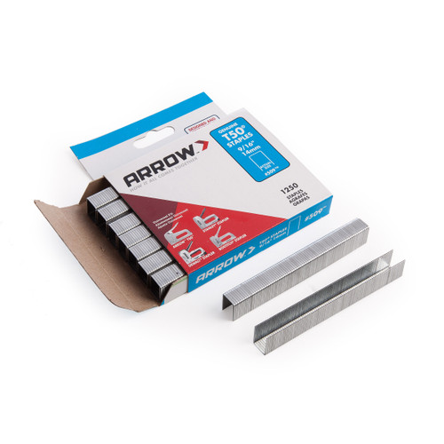 Arrow A50924 T50 Staples 14mm 9/16in (Pack of 1250) - 1