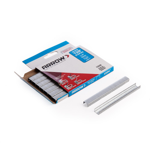 Arrow A50424 T50 Staples 6mm 1/4in (Pack of 1250) - 1