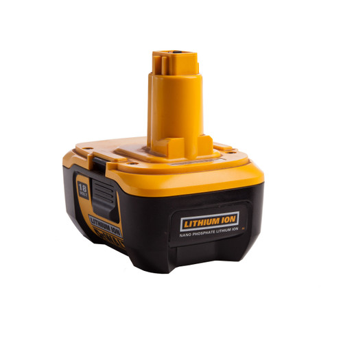 Dewalt DE9180 18V Nano Phosphate Li-Ion Battery Pack Accessory - 2
