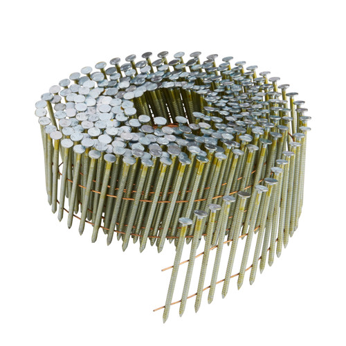 Buy Dewalt DNN20R35G12E 35mm Galvanised Ring Shank Coil Nails (Pack of 21000) at Toolstop