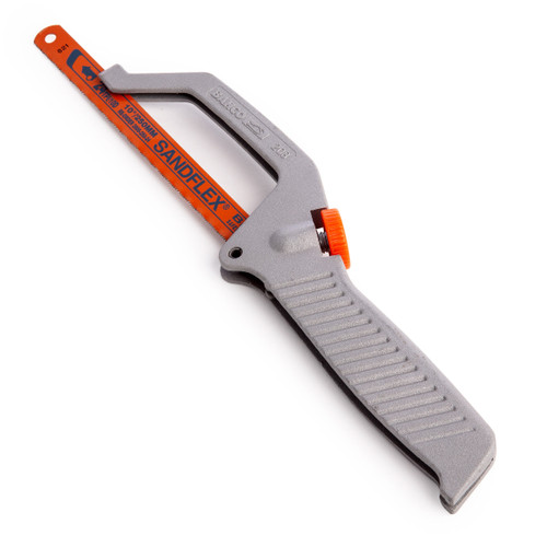 Bahco 208 Mini Hacksaw with Sandflex 24 tpi Bi-Metal Blade 250mm / 10 Inch - 4