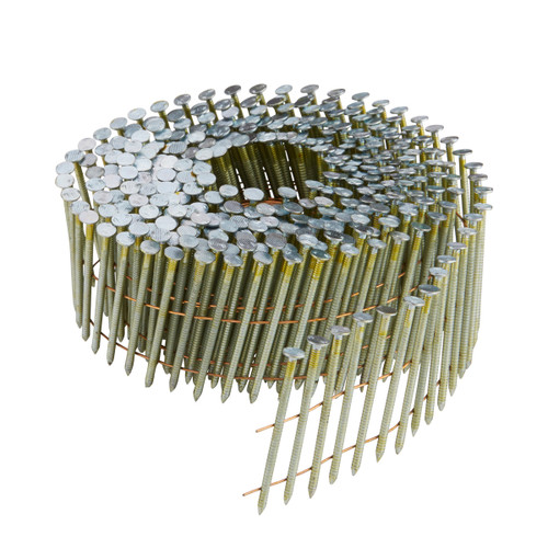 Buy Dewalt DNN20R38G12E 38mm Galvanised Ring Shank Coil Nails (Pack of 17,500) at Toolstop