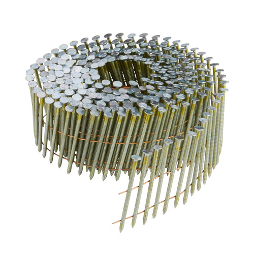 Buy Dewalt DNN20R55G12E 55mm Galvanised Ring Shank Coil Nails (Pack of 14000) at Toolstop