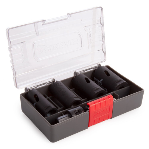 Abracs ABHSCKIT5 Cobalt Holesaw Kit (5 Piece) - 2
