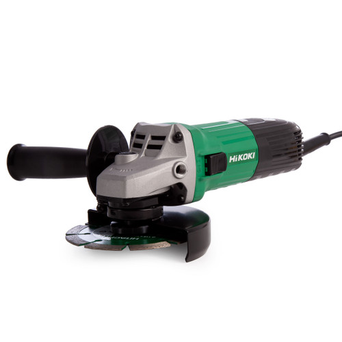 HiKOKI G12STX 115mm Angle Grinder 110V with Diamond Blade - 5