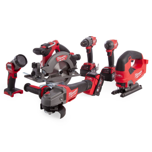 Milwaukee M18 FPP6D2-503B 18V Fuel Powerpack 6 Piece Kit (3 x 5.0Ah Batteries) - 7