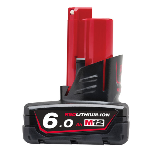 Milwaukee M12B6 12V Li-ion Battery 6.0Ah - 1