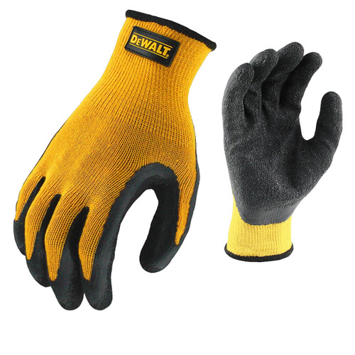 Buy Dewalt DPG70L Latex Gripper Glove Size Large at Toolstop