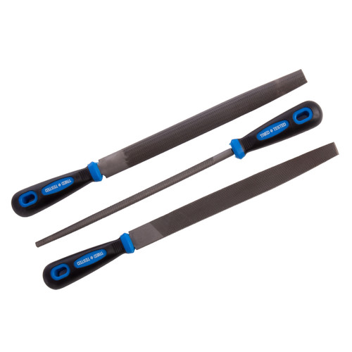 Tried + Tested TT237 250mm File Set (3 Piece) - 2