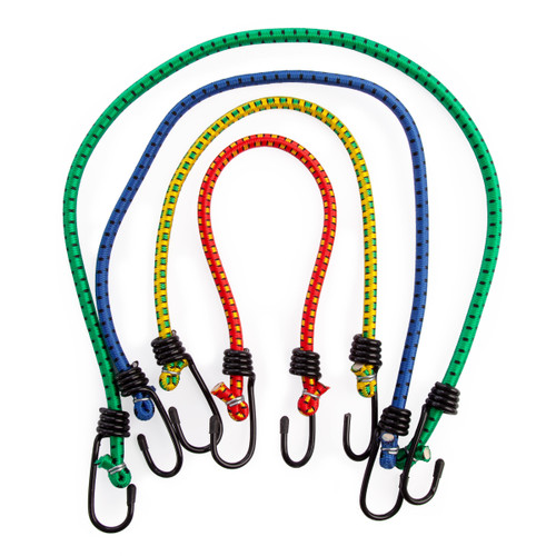 Buy Tried + Tested TT199 Bungee Cords (Pack Of 24) at Toolstop