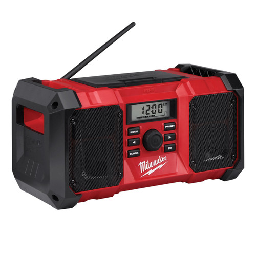 Milwaukee M18JSR-0 (4933451250) M18 Jobsite Radio (Body Only) - 9