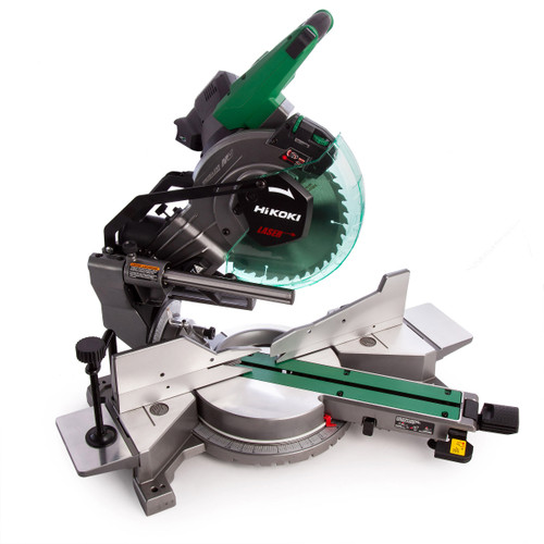 HiKOKI C 3610DRA 36V Multi-Volt Brushless Slide Compound Mitre Saw 255mm (Body Only) - 8