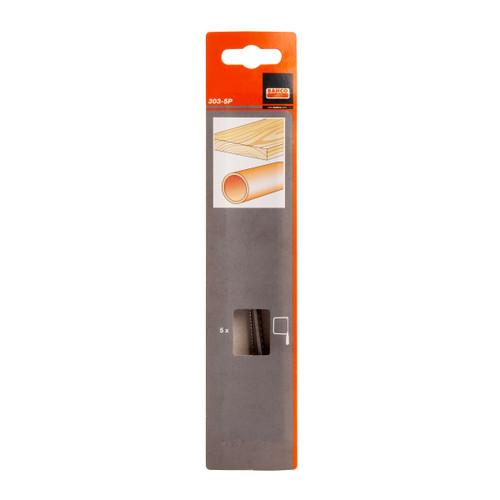 Buy Bahco 303-5P Coping Saw Blades to fit 301 (Pack 5) for GBP2.92 at Toolstop