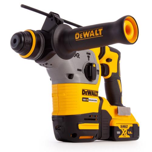 Dewalt DCH283P2 18V XR Brushless 3 Mode SDS Plus Hammer Drill (2 x 5.0Ah Batteries) - 5
