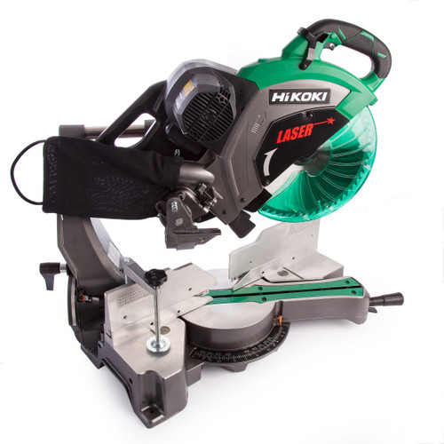 HiKOKI C 12RSH2 Slide Compound Mitre Saw with Laser Marker 305mm / 12 Inch 110V - 5