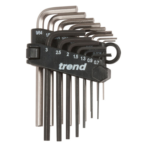 Trend HK/SET/A Mini Hex Key Set (16 Piece) - 3