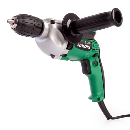 HiKOKI D 13VF Rotary Drill 710W with Keyless Chuck 13mm / 1/2 Inch 110V - 5