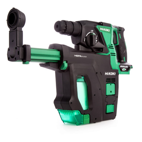 HiKOKI DH 36DPB 36V Multi-Volt Brushless SDS Plus Rotary Hammer (Body Only) - 5