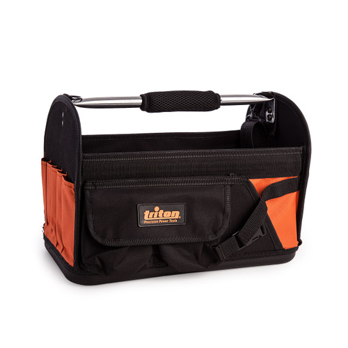 Triton 529073 Open Tote Hard Base Tool Bag (370 x 180 x 170 mm) - 2