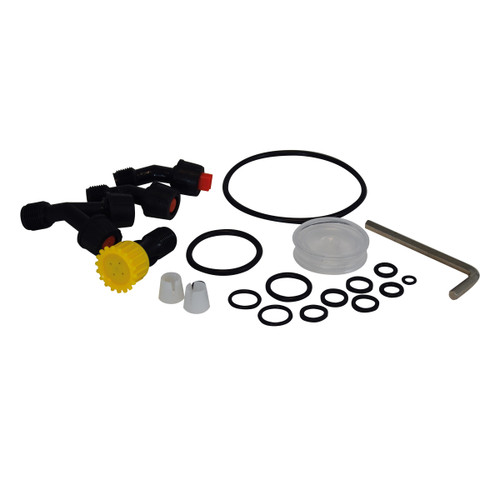 Buy Spear & Jackson 15LPAPSKIT O Ring Seals & Spare Nozzles Kit For 15 Litre Backpack Style Pump Action Pressure Sprayer (19 Piece) for GBP4.17 at Toolstop