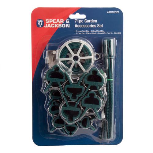 Spear & Jackson ACCESS71PS Garden Accessories Kit (71 Piece)